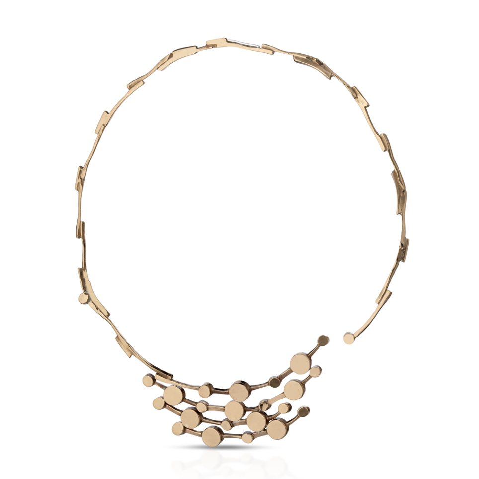 Collier in bronzo